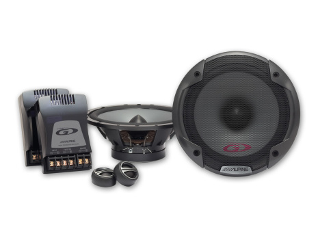 Alpine Type-G Component 2-way speaker 6-1/2""