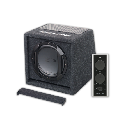 "Kampanj! Alpine 8"" Type-E subwoofer box"