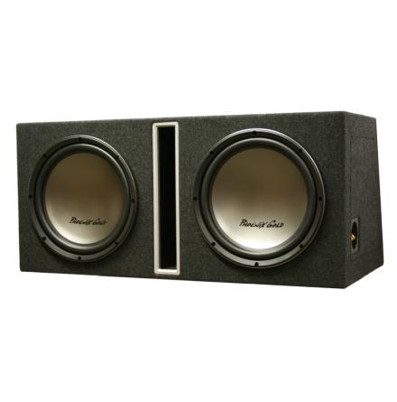 Dubbel låda med Z112 kopplas till 2 Ohm perfekt till Z3001