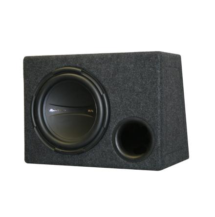Enkellåda med RX2112d kopplas till 2 Ohm perfekt till RX2501