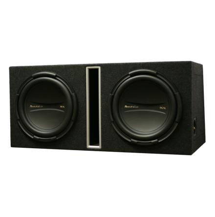 Dubbellåda med RX2110 kopplas till 2 Ohm perfekt till RX5001