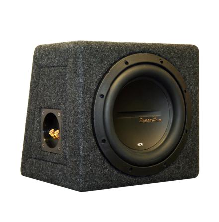Enkel låda med SX18s4 4Ohm perfekt till SX400.1