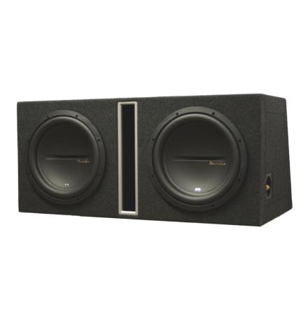 Dubbel låda med SX12d4 kopplas 1 Ohm perfekt till SX12001