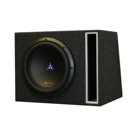Enkel låda med TI310d2 kopplas 1 Ohm perfekt till Ti28001