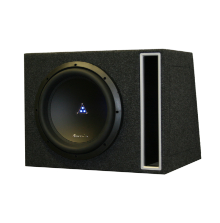 Enkel låda med ELITE212D2 kopplas 1 Ohm perfekt till Ti28001