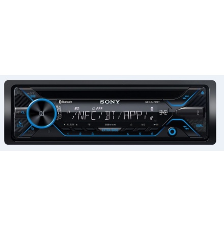 Ersatt av MEXN5300BT SONY Blåtands CD med USB AUX Mic