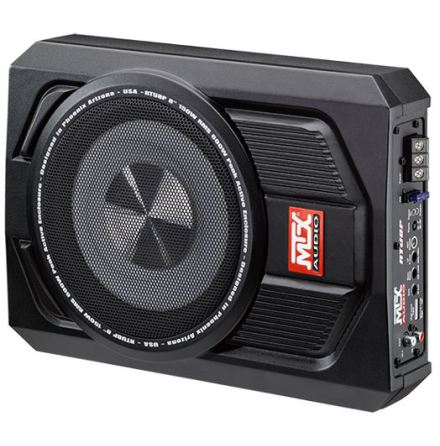 "MTX Active 8"" Subwoofer Underseat 600W"