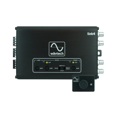 Wavtech 4-Channel LOC w/ AUX Input, summing and remote