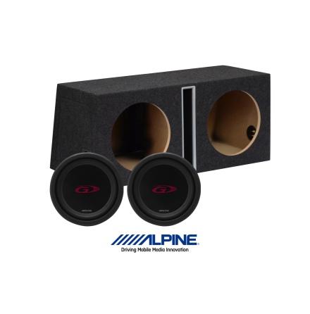 """Alpine Type-G baspaket 2x12"""""""