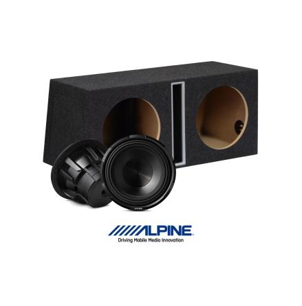 "Alpine X-series baspaket 2x12"""