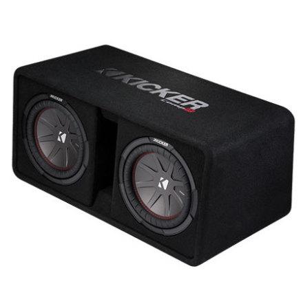 KICKER Dual-Bassreflex-Box DCompR10