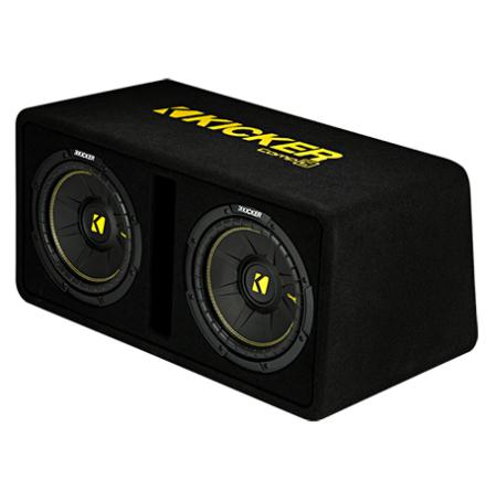 KICKER Dual-Bassreflex-Box DCWC102