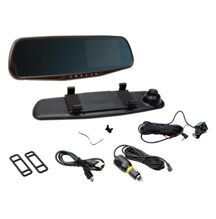 Mirror with DVR