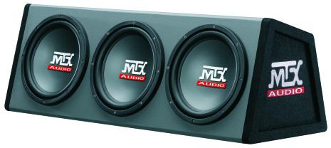 """Kampanj! MTX Roadthunder 3x10"""" Låda 2ohm 600W"""