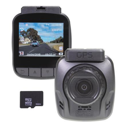 1080P FULL HD DASH CAM GPS 8GB