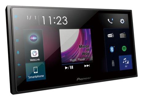 Pioneer 2DIN BT, DAB, CarPlay, Android Auto
