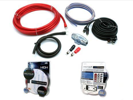 Kampanj! 20mm2 OFC-hybrid Professional Amp Kit