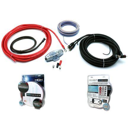 Kampanj! 10mm2 OFC-hybrid Professional Amp Kit