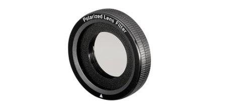 Polariserings filter, minimaliserer refleksjoner Relections.