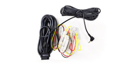 Hard wire cable connects your Dash Camera