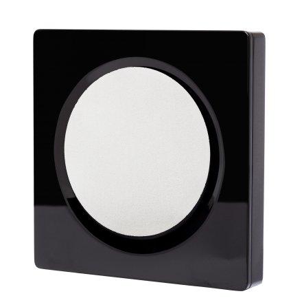 D-One design wall speaker, Black high gloss, pair