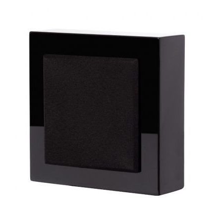 Flatbox Slim Mini, wall speaker black piano, pair
