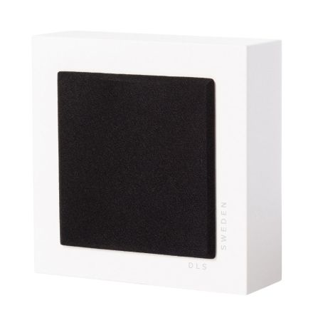 Flatbox Slim Mini, wall speaker white, pair