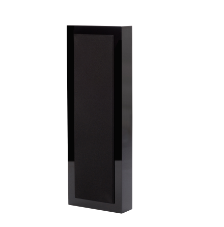 Flatbox XL, wall speaker black piano, pair