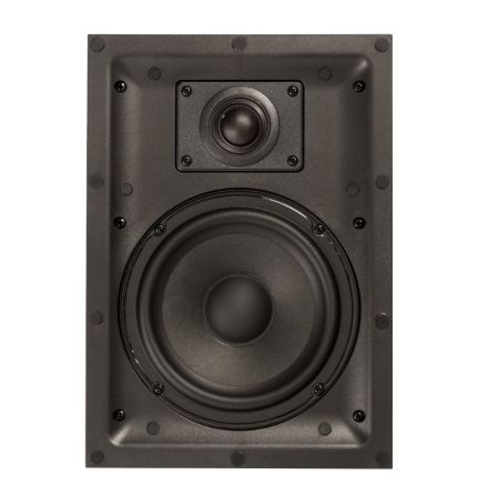 IW 2.6 In-wall speaker 6,5 inch+1 inch,magnet frame,pair