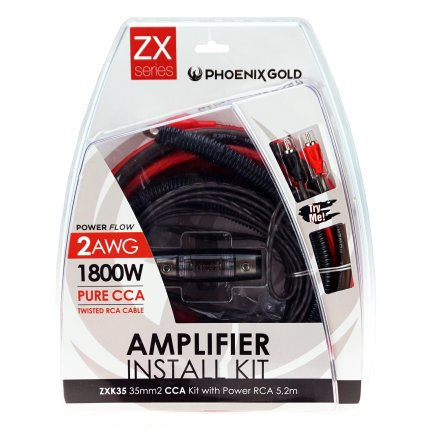 35mm2 CCA kit with power RCA 5,2m