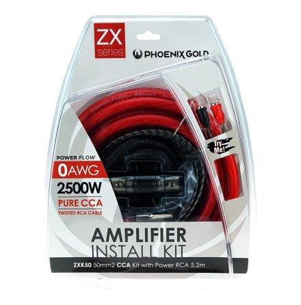 Kampanj! 50mm2 CCA kit with power RCA 5,2m