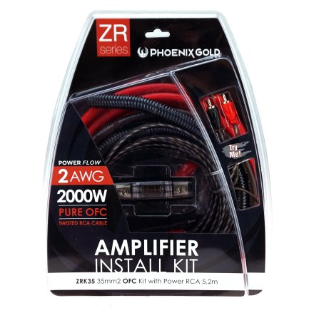 35mm2 OFC kit with power RCA 5,2m
