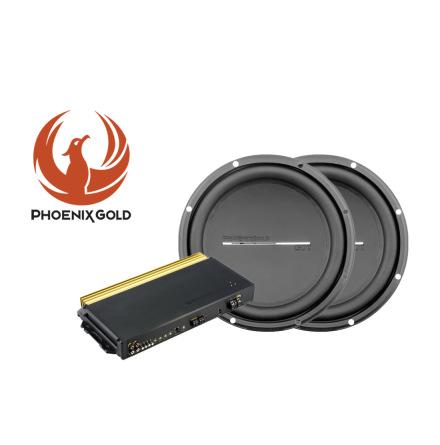 Phoenix Gold's GX 2x12tum Baspaket med SX212001 steg